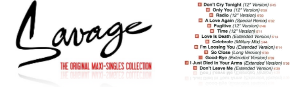 Savage – The Original Maxi-Singles Collection